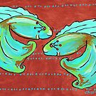 Dance of the Betas Fish by Casey Virata