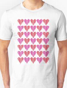 Love Hearts Abstract No.1 Unisex T-Shirt