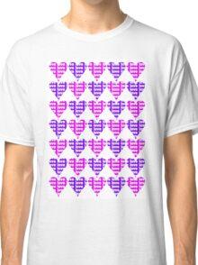 Love Hearts Abstract No.3 Classic T-Shirt