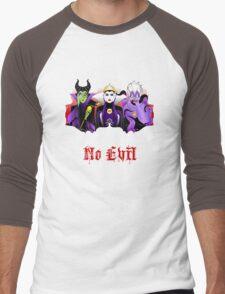 Three Wise Villains (Purple) Men's Baseball ¾ T-Shirt