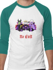 Three Wise Villains (Purple) Men's Baseball ¾ T-Shirt