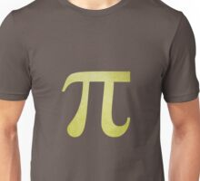 Lime Green Pi Symbol Unisex T-Shirt