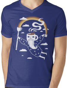 Joe the Coffee Wizard Mens V-Neck T-Shirt