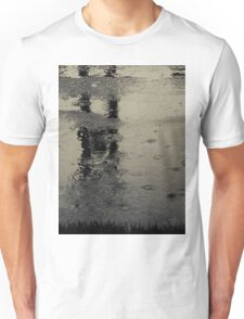 Are we just shouting at the pain?...or do we see just what we are?...We're naked in the rain T-Shirt