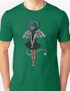 Blue Curls of the Sphinx T-Shirt
