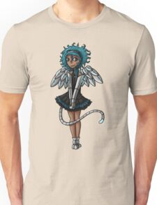 Blue Curls of the Sphinx Unisex T-Shirt