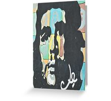 Che Guevara Mural Greeting Card