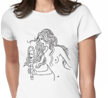 look in the mirror Womens Fitted T-Shirt