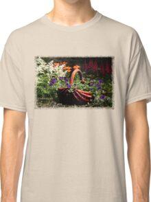 My Garden Petunia Basket Classic T-Shirt