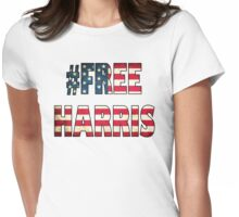 Free Harris Womens Fitted T-Shirt
