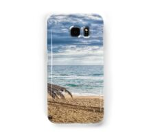 A Lonely Beach Umbrella Samsung Galaxy Case/Skin