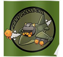 Army Plan Cat Poster
