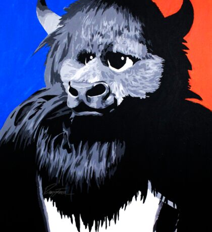 Rumble The Bison Sticker