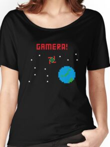 Gamera in Space! Pixel Women's Relaxed Fit T-Shirt
