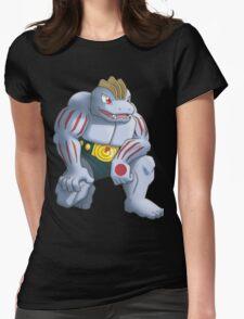 Machoke Pokemon Womens Fitted T-Shirt
