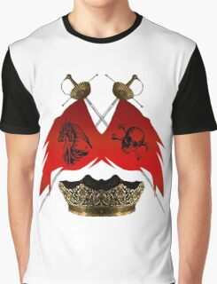 The Emblem Of Piracy Graphic T-Shirt