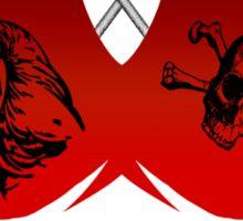 The Emblem Of Piracy Sticker
