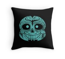 Dia de los Sans Throw Pillow