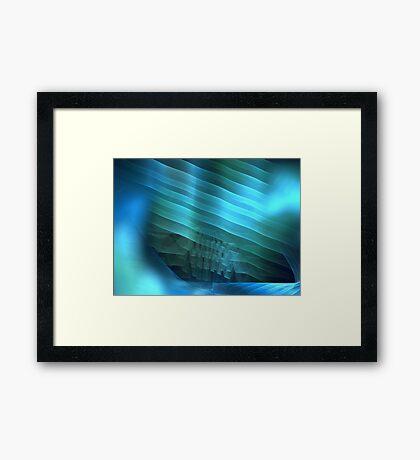 Ocean Shelf Framed Print