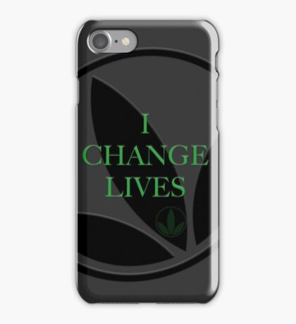 Herbalife I Change Lives Herbaswag iPhone Case/Skin