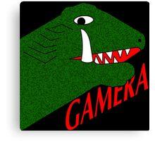 Gamera - Black Canvas Print