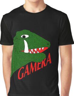 Gamera - Black Graphic T-Shirt