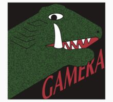 Gamera - Black One Piece - Short Sleeve