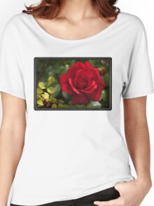 My Love is Like a Red, Red Rose... Women's Relaxed Fit T-Shirt