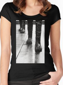 Approach Of The Giants Women's Fitted Scoop T-Shirt