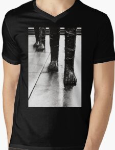 Approach Of The Giants Mens V-Neck T-Shirt