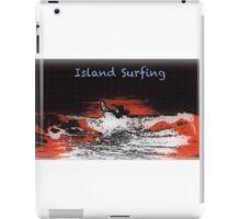 Island Surfing iPad Case/Skin