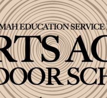 Sports Acres Outdoor School (fcb) Sticker