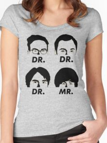 MR & DR Women's Fitted Scoop T-Shirt