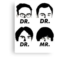 MR & DR Canvas Print