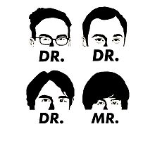 MR & DR Photographic Print