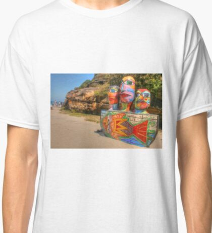 Colourful Sculpture by the Sea Classic T-Shirt