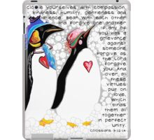 Clothe Yourselves with Compassion iPad Case/Skin
