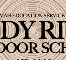 Sandy River Outdoor School (fcb) Sticker