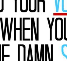Grey's Anatomy - Meredith Quote Sticker