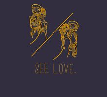 See Love (Gold) Unisex T-Shirt