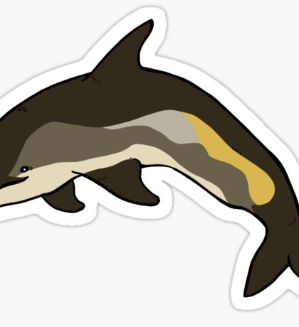 Atlantic White Sided Dolphin Sticker