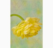 Yellow Ranunculus Macro Unisex T-Shirt