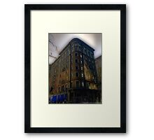 Apartments 1940 Framed Print