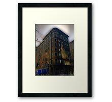 Apartments 1940 Framed Print