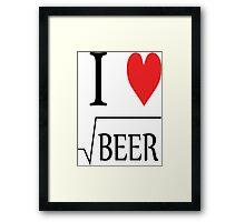 Root Beer Framed Print