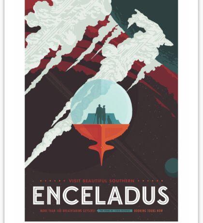 NASA Tourism - Enceladus Sticker