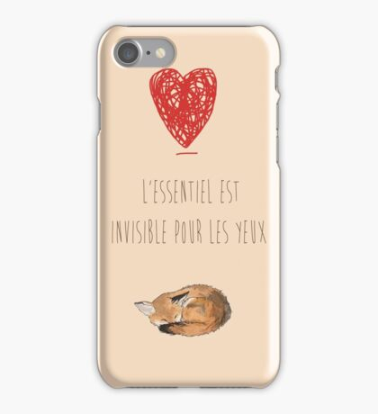 The Little Prince Quotes  iPhone Case/Skin
