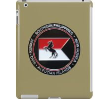 1-153rd Cavalry Regiment 2013 Deployment Emblem iPad Case/Skin