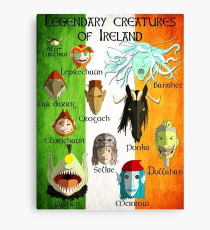 Legendary Creatures of Ireland Canvas Print