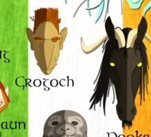 Legendary Creatures of Ireland Sticker